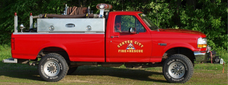 1993 Ford F350 Grass Rig